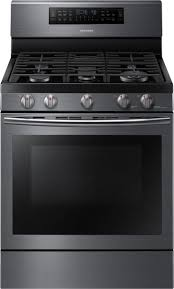 Gas Kitchen Appliance Packages Samsung 4 Piece Kitchen Package With Nx58j7750sg Gas Range