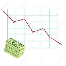 Money Dollar Reduction Chart Graph Information Graphic Chart