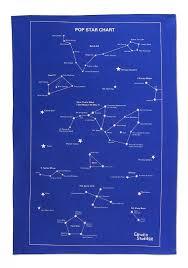 Tea Star Chart Star Chart Tea Towel