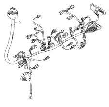 suzuki main wire harness in atv parts suzuki oem main wiring harness 05 07 lt a700x king quad 700 36610