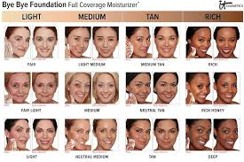 Benefit Foundation Colour Chart It Cosmetics Is The Latest Beauty Brand To Face Backlash For
