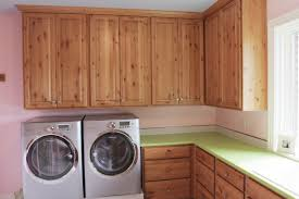 Laundry Room In Kitchen Cabinet Material In Laundry Rooms Cabinets By Graber