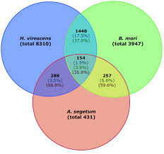 Venn Diagram Overlap Venn Diagram Showing The Total Number Of Contigs In Black