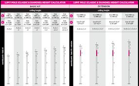 X Pole Height Chart Faq Poleshop De Pole Dance Stangen Pole Dancing