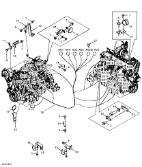 1470e harvester engine control unit ecu wiring harness epc john