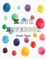 Math Notebook Graph Paper Square Grid Journal Squared Notebooks