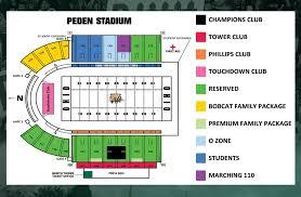 Right University Of Toledo Stadium Seating Chart Glass Bowl