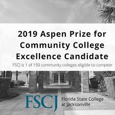 fscj to compete for aspen prize