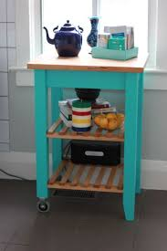 Bekvam kitchen cart Teal Kitchen Ikea Bekvam Kitchen Cart Stained And Painted Turquoise Science Of Married Pinterest Ikea Bekvam Kitchen Cart Stained And Painted Turquoise Science Of