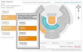 Interactive Seat Map Ticketmaster