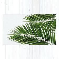 palm leaf bath rug ii by rugs