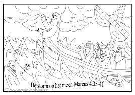 Storm Op Het Meer Clipart Geloven Is Leuk