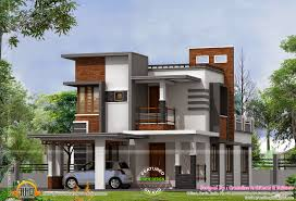low cost contemporary house kerala home design and floor plans free budget with photos