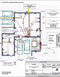 electrical wiring plan for home luxury house electrical plan
