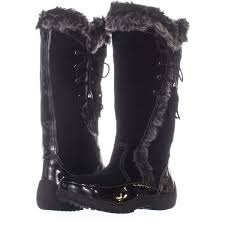Details About Sporto Side Winder Waterproof Cold Weather Boots 524 Black 9 5 Us