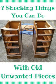 diy repurposed furniture. 11 Shocking Things You Can Do With Old Unwanted Pieces. Diy Furniture Repurposed
