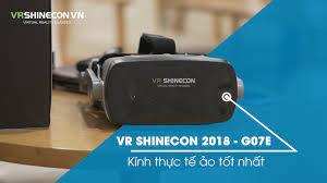 Giới thiệu về kính thực tế ảo VR Shinecon G07E