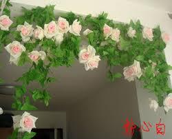 artificial rose simulation fake flower decor