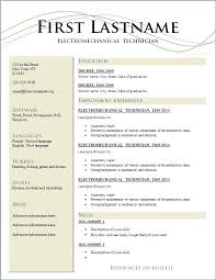 Resume Template Download Free Word Template Resume Word Free Download