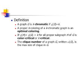 It has an overload that allows specifying the color as an integer number. Chapter 5 Coloring Of Graphs 5 1 Vertex Coloring And Upper Bound Definition A K Coloring Of A Graph G Is A Labeling F V G S Where S K Or S K Ppt Download