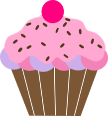 Cupcakes Clipart Bday Cupcake Graphics Illustrations Free
