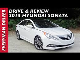 hyundai sonata 2013. detailed review 2013 hyundai sonata on everyman driver y