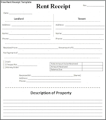 receipt for rent rental receipts for tenants rental receipts for tenants sample
