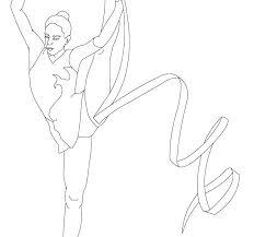 printable gymnastics coloring pages page balance beam for kids gym