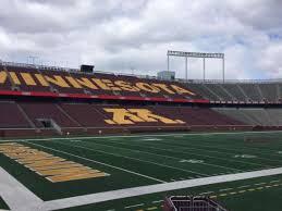 Tcf Bank Stadium Seating Chart Views Tcf Bank Stadium Section 126 Home Of Minnesota Golden