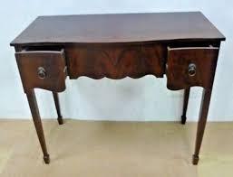 mahogany hall table. SMALL Mahogany Hall Table Console 2 Drawer Entry Writing SPADE LEGS