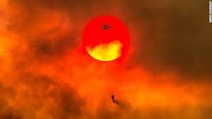 Carr Fire In California Is So Hot Its Creating Its Own Weather