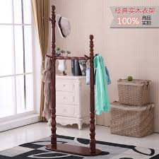Solid Wood Coat Rack Stunning USD 3232] Solid Wood Coat Rack Hangers Floor Wooden Europeanstyle