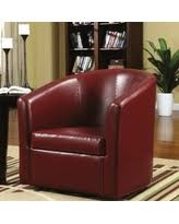 red accent chairs for living room. Living Room Barrel Style Red Upholstered Swivel Accent Chair Chairs For