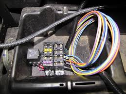 painless wiring fuse block install block you will ground the terminal and complete the circuit since the underhood area is plastic i had to splice in a short piece of wire and connect it