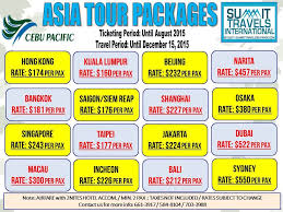 Asian tour and travel