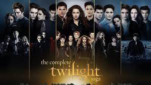 while watching all five Twilight movies ...