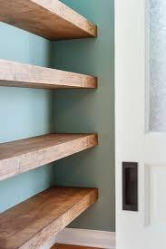 Building Floating Shelves Heavy Duty Delectable DIY Floating Wood Shelves Wood Shelf Bricks And Shelves