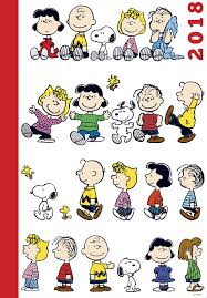 Peanuts Gang 2018 Agenda - Family And Children