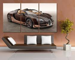 Shop affordable wall art to hang in dorms, bedrooms, offices, or anywhere blank walls aren't welcome. Antiquitaten Kunst Bugatti Poster Chiron Car Supercar Fast Art Large Image Giant Print Picture Kunstplakate