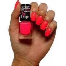 Estylecrazy Nail Enamel Rychleschnoucí Lak Na Nehty Neon Růžový 25 Pink 7 Ml