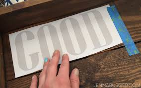 diy tutorial hand painted sign using chalk to transfer design onto wood an easy