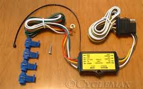 how to wire a pin trailer harness images 5 to 4 pin trailer harness converter 45 1848 cyclemax