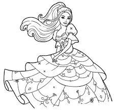 Coloriages Coloriages Imprimer Dessin Colorier Dessins Pour Jeux De Barbie Coloriage L
