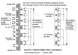 output trans theory schematic of