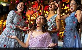 sisters before misters neeti mohan s pre wedding photoshoot is filled with sibling revelry