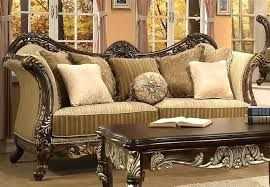 Traditional Wooden Sofa Designs Carved Wood Sofa Set Org Traditional