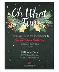 office party flyer holiday dinner and auction invitation company party template free