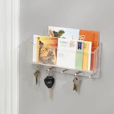 wall mounted letter racks