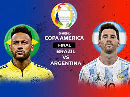Brazil vs Argentina, Copa America Final ...