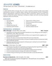 office management resume example operations resume examples
